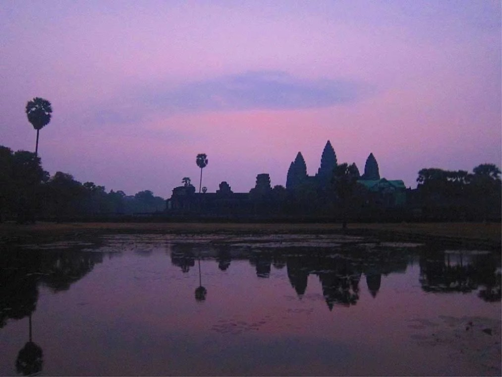 Lever de soleil sur Angkor Vat, Cambodge