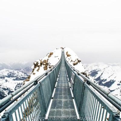 La Peak Walk - Glacier 3000, Suisse