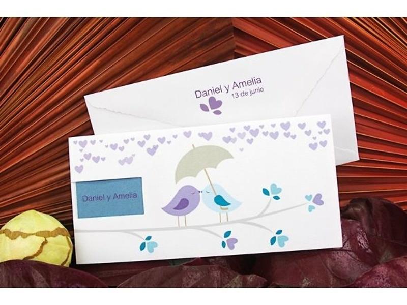 Invitación boda ref100666 Impresión Gratis - Invitaciones de boda