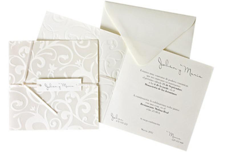 Invitación de boda Ref100531 IMPRESION GRATIS - Invitaciones de