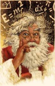 Tal vez Papa Noel sea el experto en Física de la historia