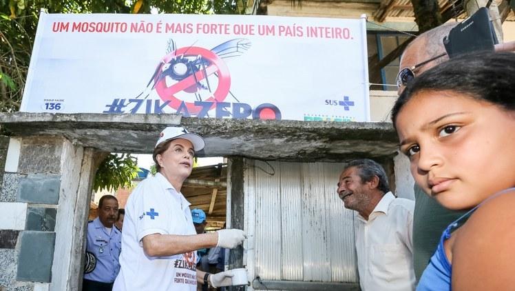 Cerca de 2,8 milhões de residências foram visitadas em mobilização do Zika Zero