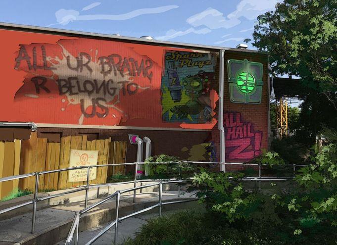 Plants vs. Zombies Garden Warfare 3Z Arena