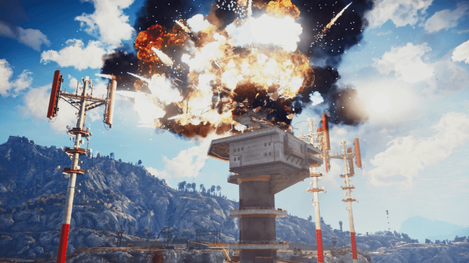 Just Cause 3 - 4K Explosion