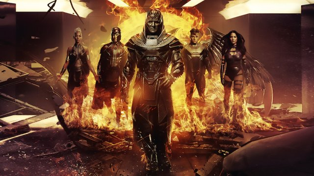 Apocalypse and The Four Horseman don't really amount to anything in this film