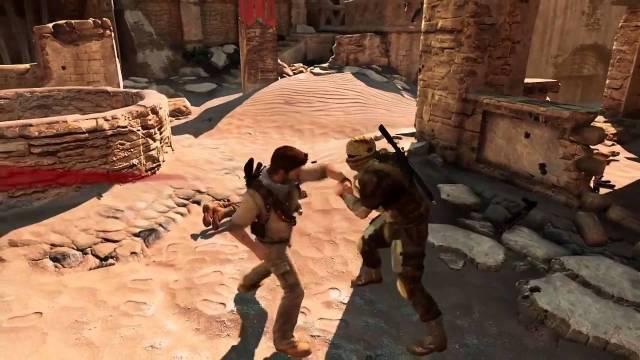 Uncharted 3 Desert Combat