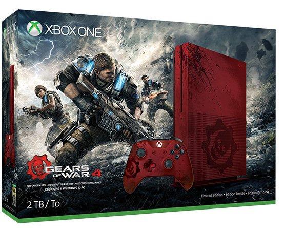 Gears of War 4 Xbox One S Bundle