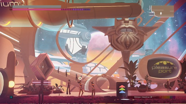 Headlander is a pretty game that oozes style.