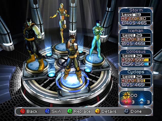 X-Men Legends Team