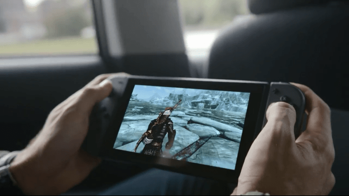 Nintendo Switch - Skyrim in a Cab
