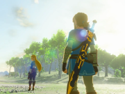 The Legend of Zelda: Breath of the Wild - Zelda and Link