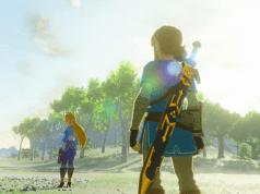 The Legend of Zelda: Breath of the Wild - Zelda and Link
