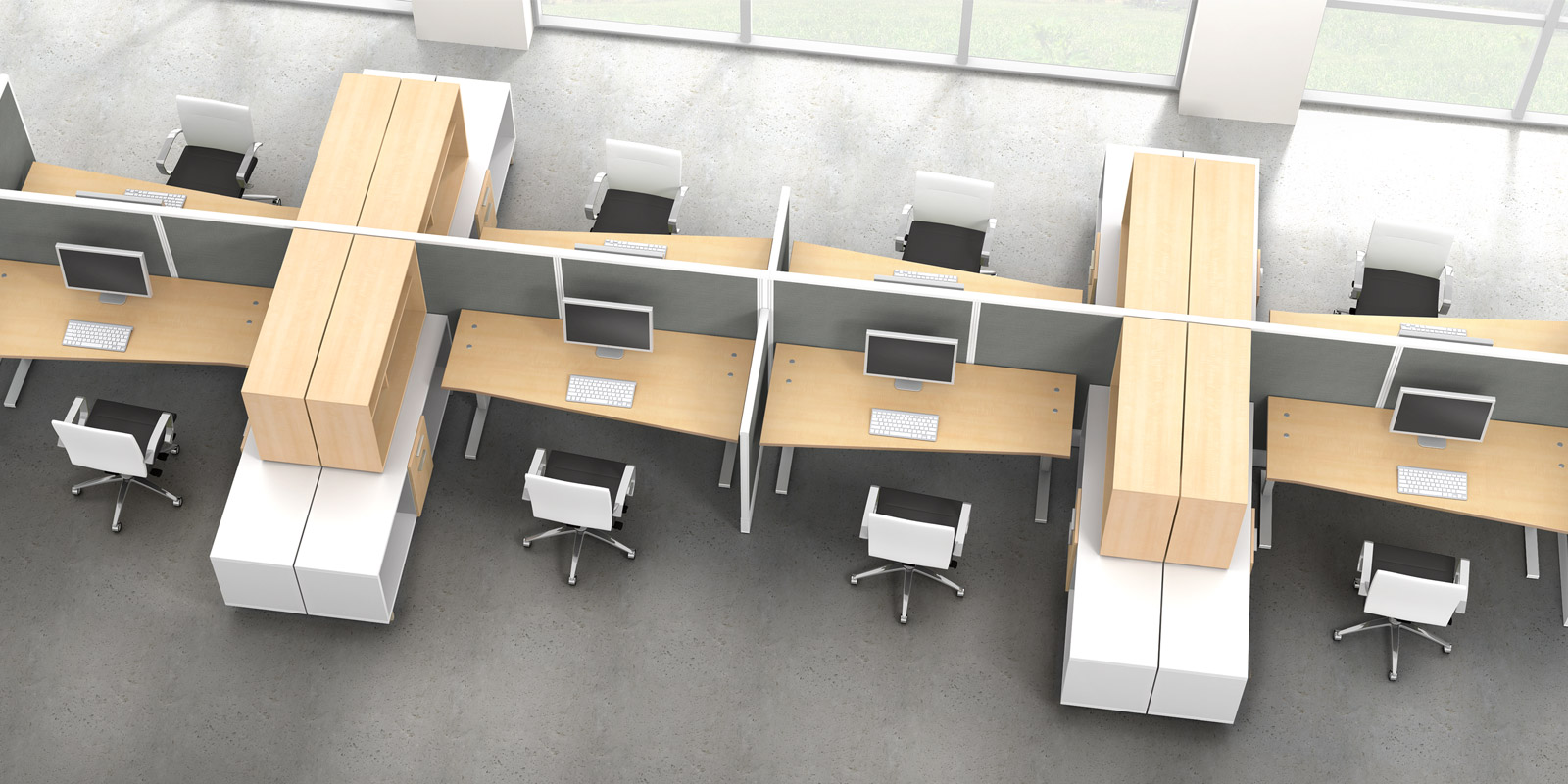Wow Watson Seven Office Furniture Enhance Your Open Office Designs