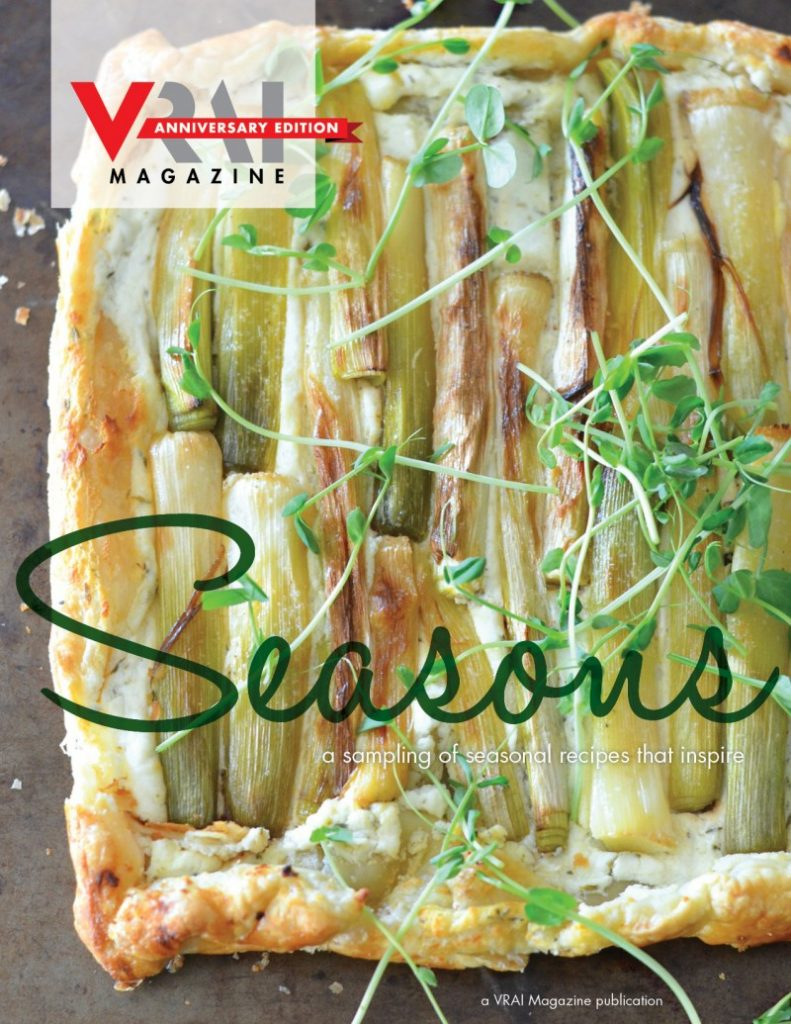 VRAI Magazine Limited Edition Anniversary Cookbook