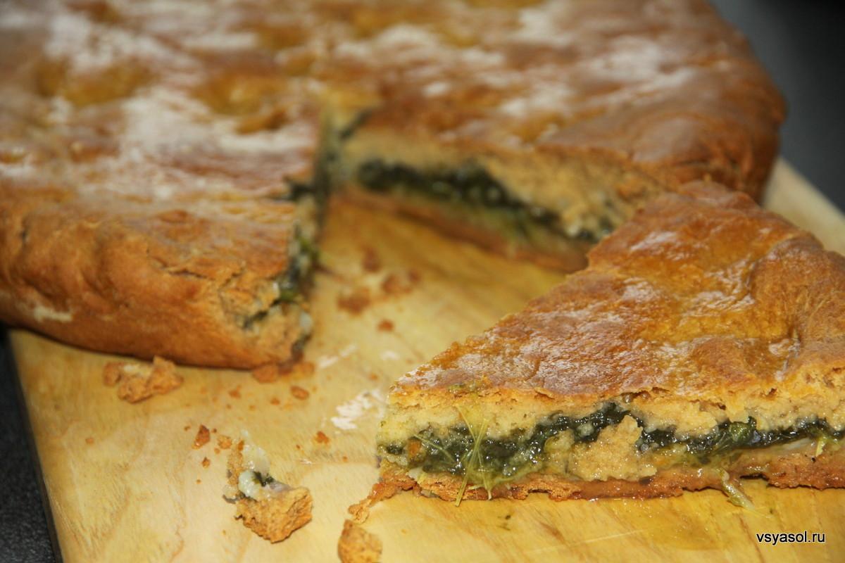 Пироги из щавеля с