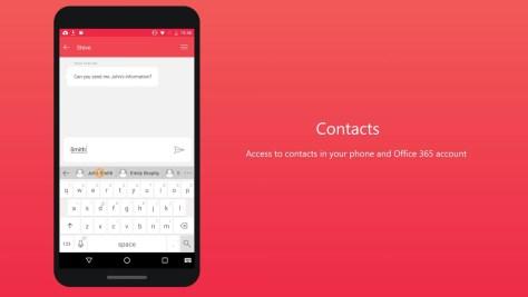 Microsoft Hub Keyboard - Contact
