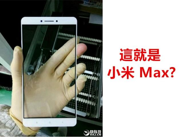 XiaoMi Max Leaked