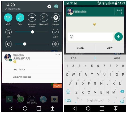 Whatsapp For Android 1