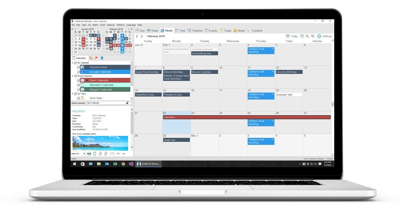Calendar App Laptop How To Use Your Google Calendar In The Windows 10 Calendar App Free Software Review September 2016 – Digitalking