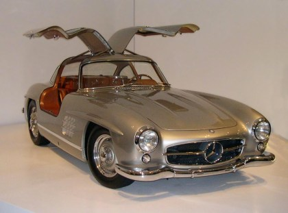Mercedes-Benz 300SL Gullwing | Foto: Wikipedia