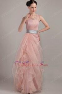 Silver Pink Prom Dress_Prom Dresses_dressesss