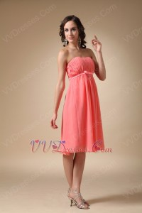Watermelon Color Bridesmaid Dresses_Bridesmaid Dresses