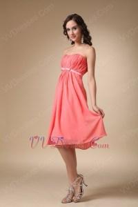 Watermelon Teal Length Bridesmaid Dress Under $100