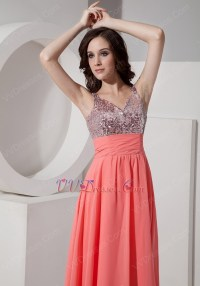 Watermelon Color Prom Dress | www.imgkid.com - The Image ...