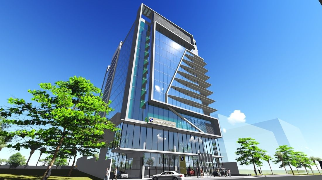 Office Buildings - VVR Engineering Design Services - bmw corporate office