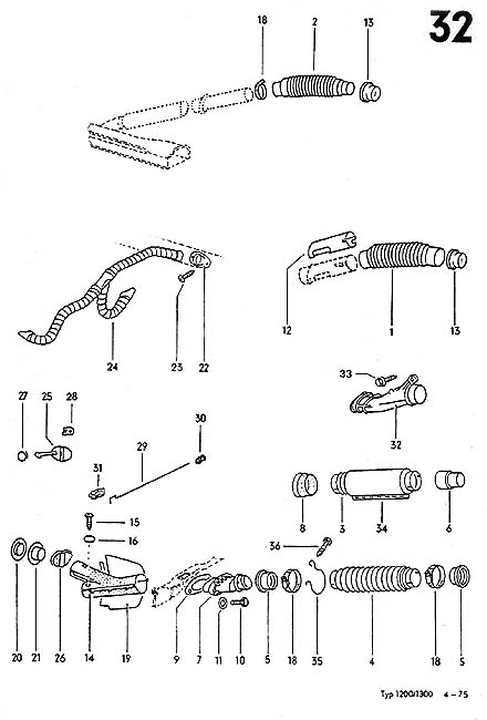 1974 vw beetle wiring schematic