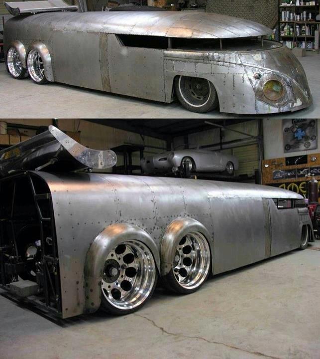 Dieselpunk VW Camper