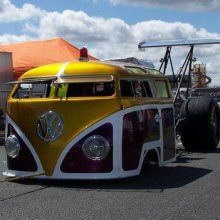VW Camper Dragster: Mental Breakdown