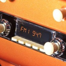 RetroSound's Bluetooth-enabled in-dash radio for classic cars