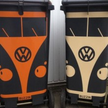 VW Camper Wheelie Bin Stickers