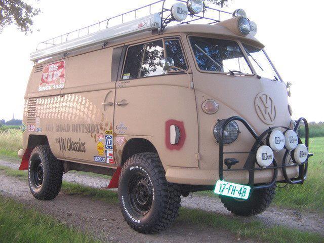 Rugged VW Bus