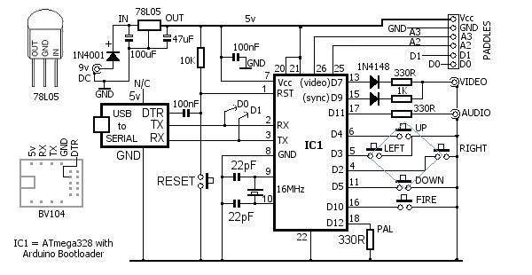 usb circuit design