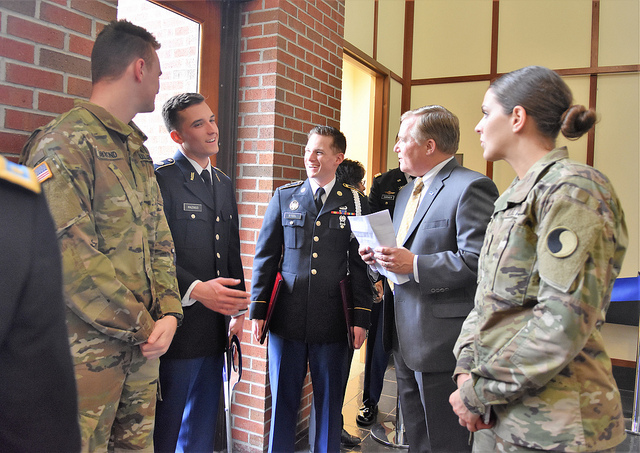 Army ROTC Office Opens at Wesleyan