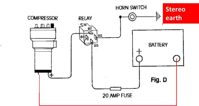 Wiring Diagram For Air Horn Wiring Diagram