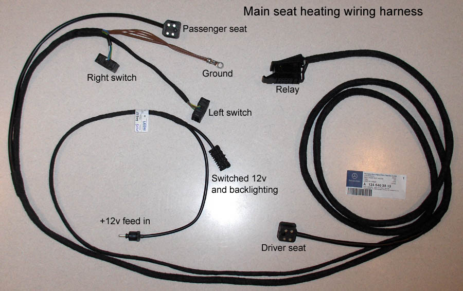 300e - Adding heated seats - Mercedes-Benz Forum