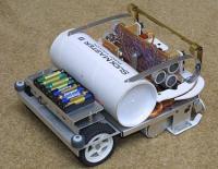 Dale's Homemade Robots - Suckmaster II Vacuum Robot