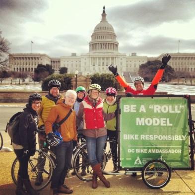 Happy Bike Month from WABA staffers.
