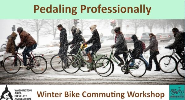 Pedaling Professionally Winter