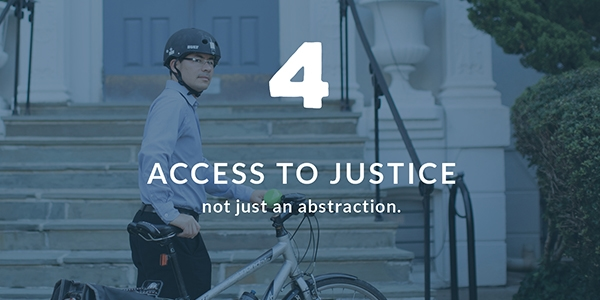 Access to Justice: More than just an abstraction