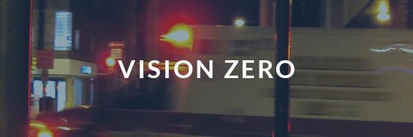 vision zero campaign banner