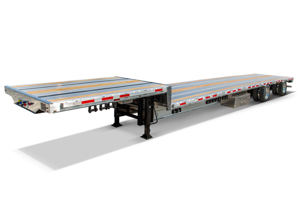 BensonAluminum Drop Deck Trailers