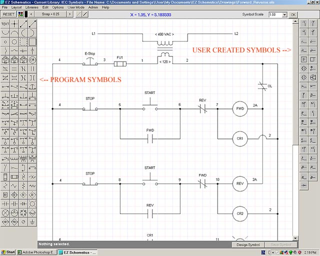 Electrical Schematic Software (Ladder Logic)
