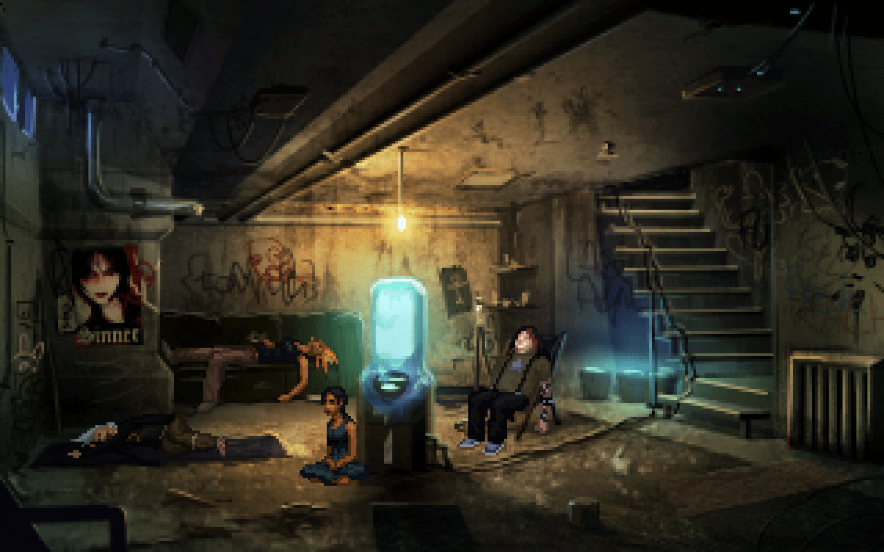 3d Wallpaper Interior Design Technobabylon Wadjet Eye Games