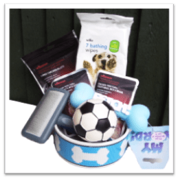 wilko dog basket and contest