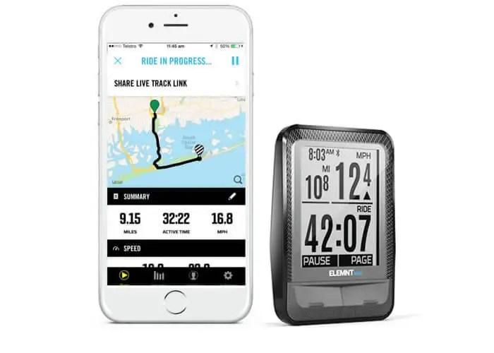 GPS  Smartphone Compatible Bike Computers Wahoo Fitness