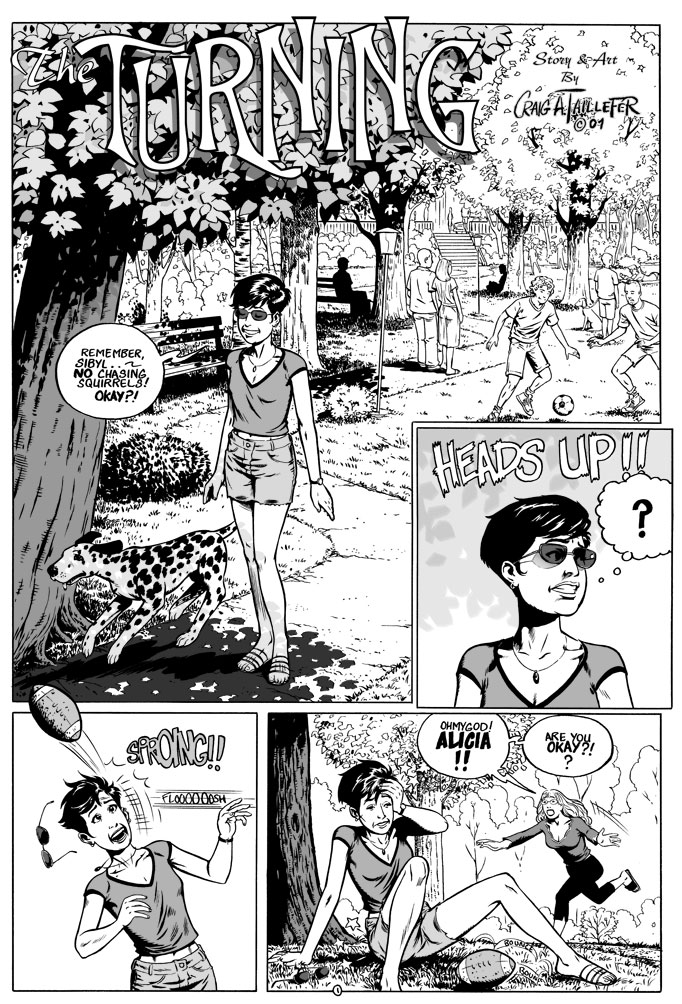 The Turning Page 1